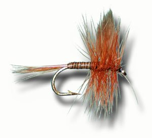 Red Quill Fly Fishing Fly - Size 16 - 6 Pack