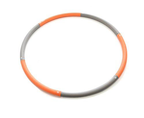 Milliard Weighted Hula Hoop, For Intense Fat Burn and Cardio Workout - Adjustable Weight up to 5.3 Pounds - Diameter 39inch