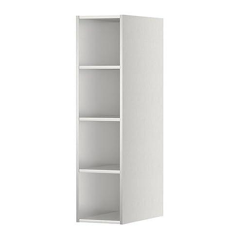 IKEA Horda - Offene Schrank, Edelstahl-Effekt: Amazon.de: Küche ...
