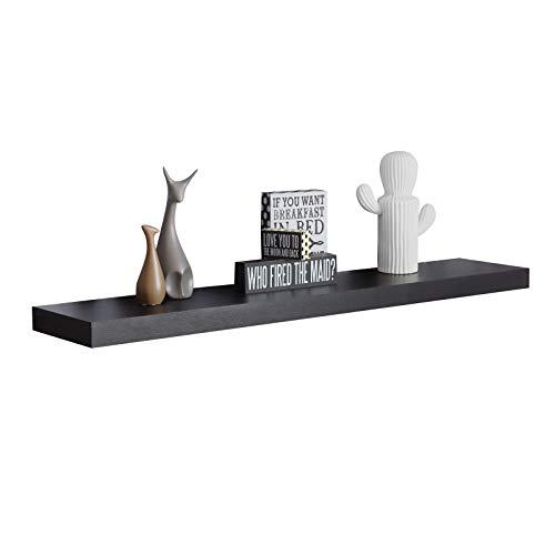 48 inch espresso wall shelf - 6