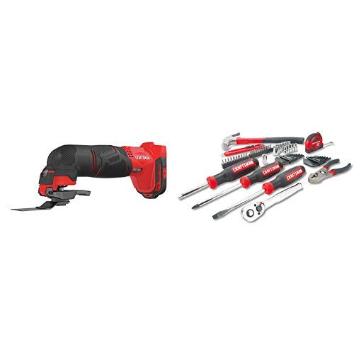 Tool Only with Mechanics Tools Kit/Socket Set 57-Piece CMCE500B ...