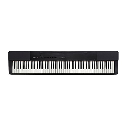 (OLD MODEL) Casio CAS PX150 BK 88-Key Touch Sensitive Privia Digital Piano with Tri-Sensor Scaled Hammer Action
