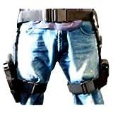 NcStar 3 pc Drop Leg Gun Holster W/ 3 Magazine Pouches Pistol Pouch Tactical/Airsoft