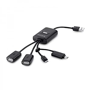 Belkin USB 2.0 4-Port Mobile-Flex Hub (F4U046V) from Belkin Components