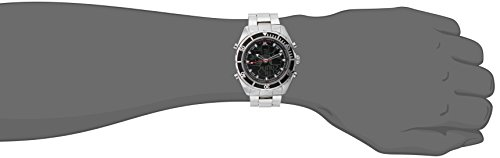 U.S. Polo Assn. Men's US8211 Analog/Digital Display Sterling Silver Watch