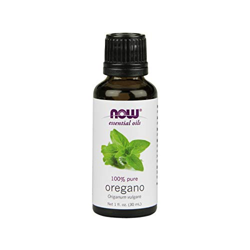 Now Essential Oils, Oregano Oil, Comforting Aromatherapy Scent, Steam Distilled, 100% Pure, Vegan, 1-Ounce