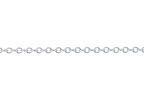 Tuscany Silver - 5.13.5943 - Collier Mixte - Or Blanc 375/1000 (9 Cts) 1.8 Gr