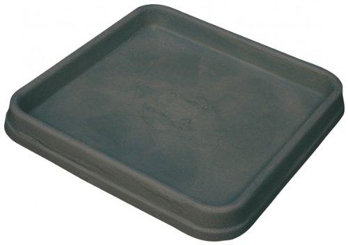 Untersetzer BIANCA quadratisch aus Kunststoff in anthrazit, Größe:50 x 50 cm