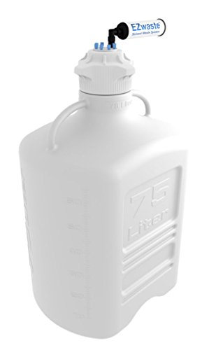 FOXX Life Sciences 332-6712-OEM EZwaste Safety Vent, Carboy, HDPE with VersaCap 120mm and EZ Top Adapter, 75 LItre Capacity by Foxx Life Sciences