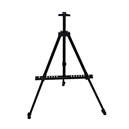 Hosim Stand Bracket Tripod Display Stand Triangular Easel for LED Flashing Illuminated Lighted Writing Board Whiteboard Chalkboard Posters Paintings Wedding Birthday Party (Carrying Bag Included)¡­ (Made Frames Poster Ready)