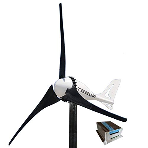 TESUP 12V i-500 Wind Turbine + 650W Hybrid Charge Controller + Manual Switch - Made in Europe