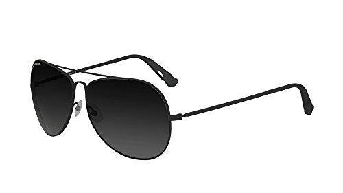 Hazard 4 Daisycutter Modern Aviator Ballistic Sunglasses, Black, - Aviator Sunglasses Ballistic