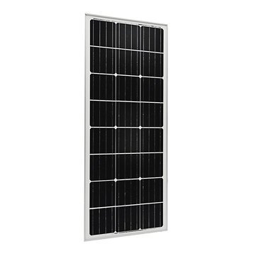 130W 12V Aluminum Frame Solar Panel For Mono Generator Caravan Camping Power Battery Charging (Panel 130w Solar)