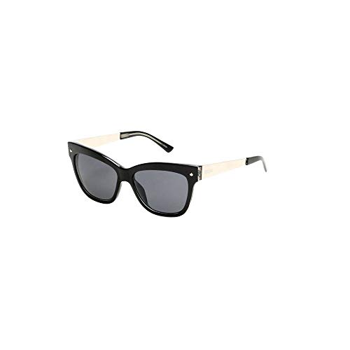 - Kenneth Cole Reaction Black Square Cat Eye Sunglasses