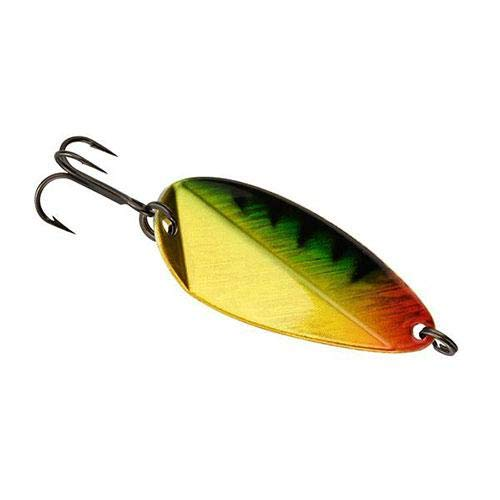 - 13 Fishing 13 Fishing Oragami Blade Flutter Spoon - Perch 3/16 Oz 13 Fishing Oragami Blade Flutter Spoon - Perch 3/16 Oz, Perch, 3/16 oz