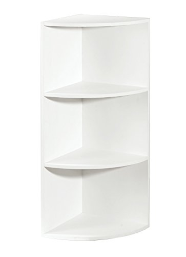 Corner Shelf Organizer, White