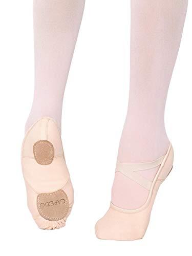 Capezio Hanami Dance Shoe, Light Pink, 7.5 W US (Toddler Ballet Slippers Capezio)