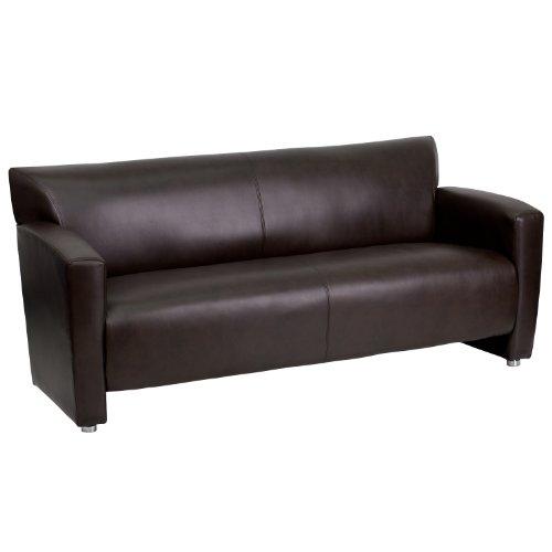 Flash Furniture HERCULES Majesty Series Brown Leather Sofa