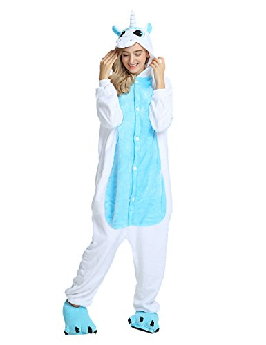 Adult Pajamas Unisex Sleepsuit Animal Sleepwear Jumpsuit Halloween Cosplay -