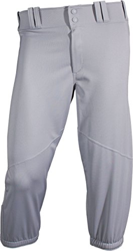 's Knicker Baseball Pant Small Gray (Gray Mens Baseball)