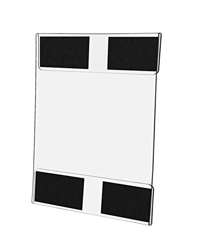 (Marketing Holders Magnetic Wall Mount Sign Display Advertisement Holder Caution Sign for Appliances Warehouses Filing Cabinets Machinery 8.5