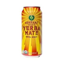 Guayaki Yerba Mate Revel Berry -- 16 fl oz Each / Pack of 4 2 4 Pack - 16 oz. cans. Also available in 16 pack and 8 pack