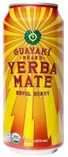 Guayaki Yerba Mate Revel Berry -- 16 fl oz Each / Pack of 4 1 4 Pack - 16 oz. cans. Also available in 16 pack and 8 pack
