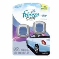 [해외]Febreze 자동차 벤트 클립 Midnight Storm 공기 청정제, 0.13 온스/Febreze Car Vents Clips Midnight Storm Air Freshener, 0.13 Ounce