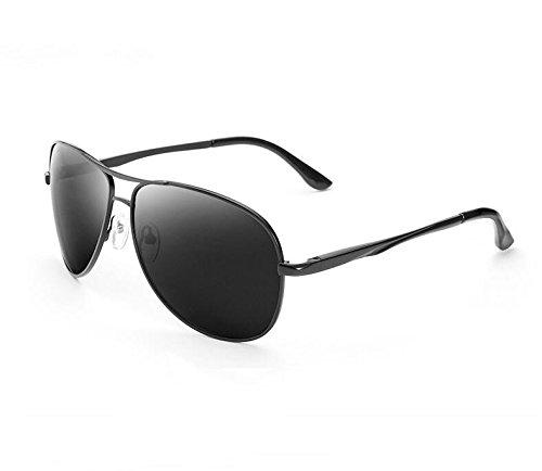 600 Negro Sol Banda luz de de Sol Degrees Black Gafas Producto de carnet Gafas Sapo Espejo Conducir los Gafas polarizada de Acabado la 250 Hombres Marea Grados KOMNY Miopía qpwZYxg