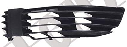 BUMPER GRILLE LEFT BLACK PASSAT B5 00-63019083