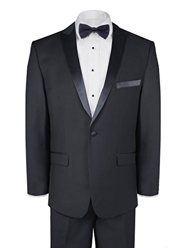 Slim Fit Tuxedo - Black, 34 (34 Tuxedo)