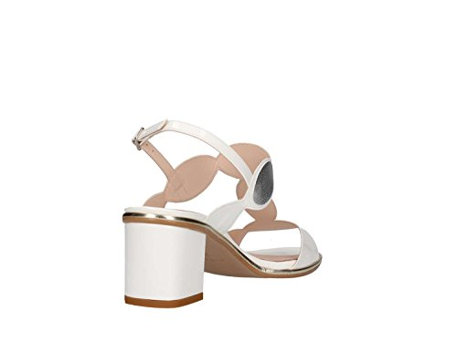 Femme t5 Mbss18 Sandale Argent Martina B Blanc 481 B1A6wq