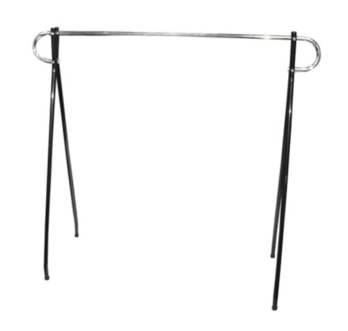 "Affordable Light Use Black Beauty Garment Rack Clothing Rack, 63W x 60H"""