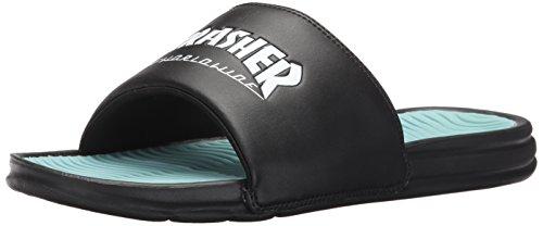 HUF X Thrasher Slides Black 40.5 / 8