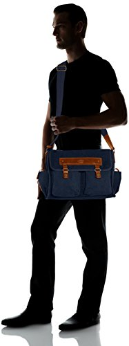 205 Bag Beheim Messenger 50 801 BLUE Blue Blue wCWIOq