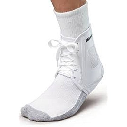 New Mueller XLP All Sport Soccer Lace Up Ankle Wrap Support Brace XXS White ()