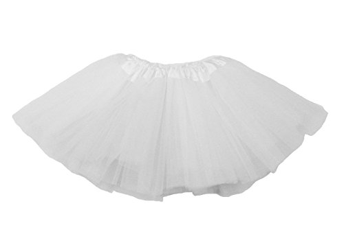The Hair Bow Company Girl & Teen Tulle Tutu Skirt for 8-16 years White