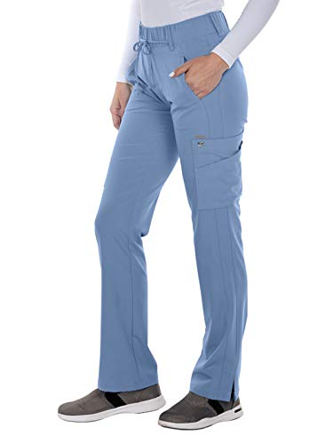 Grey's Anatomy Signature 2218 Trouser Cargo Pant Ciel Blue L ()