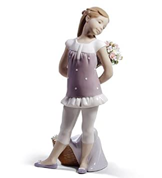 Amazon.com: Su favorito flores. Lladro Porcelana: Home & Kitchen
