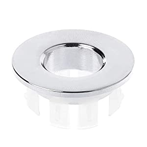 AISE Rubinetto del lavandino del bagno Copertura del troppo pieno del lavandino Sostituzione dell'inserto dell'anello di… 31w