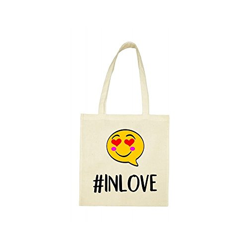 hashtag in bag love beige Tote qtEwAF