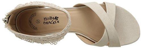 Molly Bracken Pr106p17, Sandalias Mujer Beige (Beige)