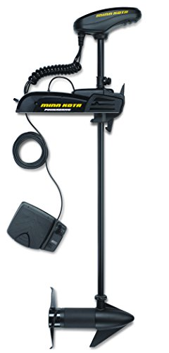 Minn Kota 1358790 Powerdrive 45_BT Bowmount Trolling Motor with Bluetooth (45-lb Thrust, 48″ Shaft)