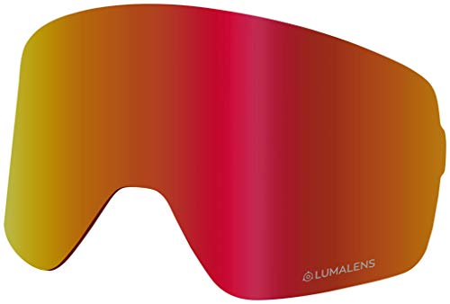 Dragon Nfx2 Replacement Lens for Snow Goggles One Size Luma Red Ionized