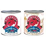 Sauce Cranberry Canned Jellied 6 no.10 Can