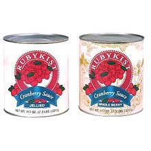 Sauce Cranberry Canned Jellied 6 no.10 Can by Clement Pappas