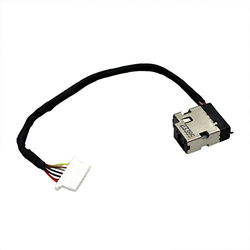 GinTai AC DC in Power Jack Harness with Cable Replacement for HP ProBook 450 G5 455 G5 470 G5