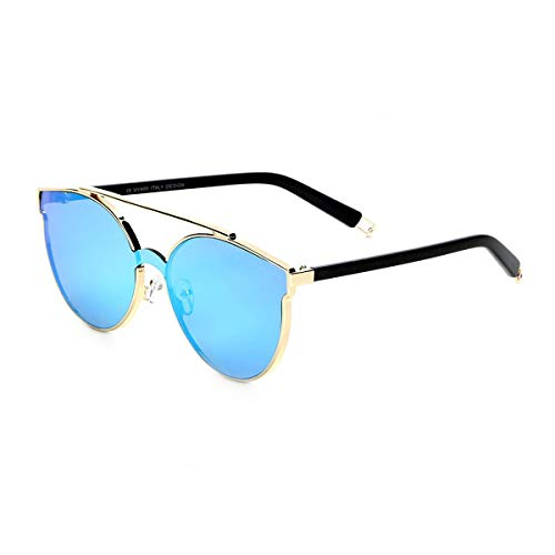 Óculos De Sol King One Feminino - Azul - Único