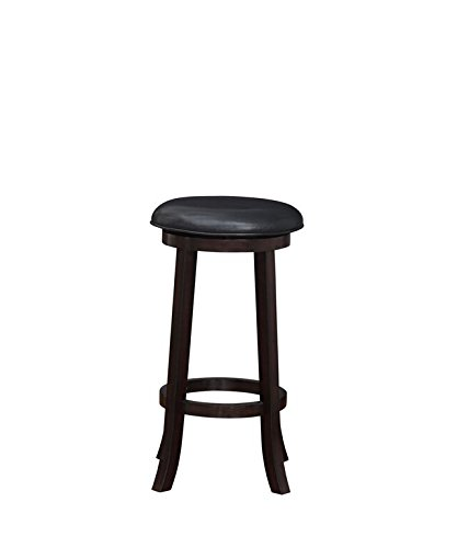 Boraam 08629 Lumi Bar Height Swivel Stool, 29-Inch, Merlot, 2-Pack - Merlot Bar Table