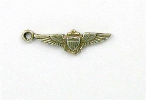 OutletBestSelling Pendant Bracelet Sterling Silver Navy Pilot Wings Charm